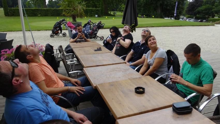 Domaine des Ormes : café des motards Rennais