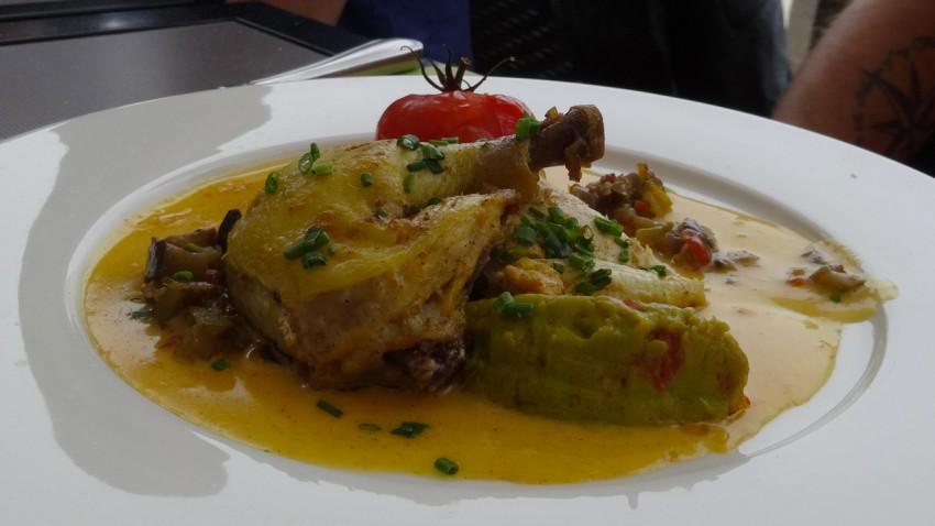 Restaurant Antinéa de Saint-Malo, vue mer