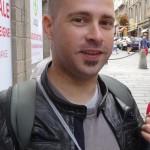 Mathieu, motard Rennais à St Malo
