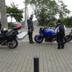 sortie moto Acigné, près de Rennes (35)