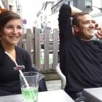 Pierre & Sybille, motard Rennais