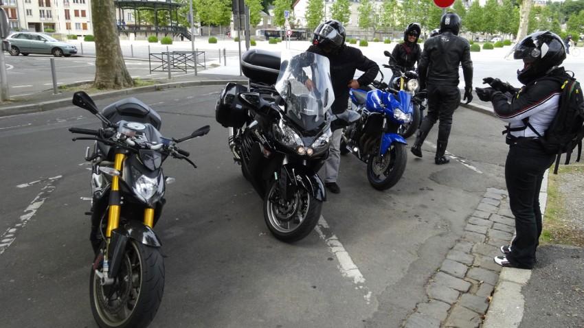 pique nique motard à Laval