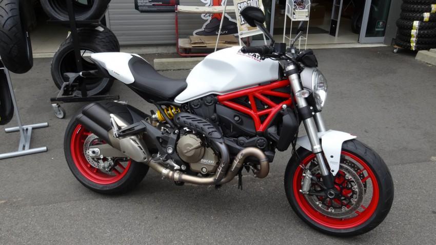 Essai Ducati Monster 821 à Laval chez City Bike