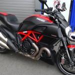 essai moto Ducati Diavel à Laval