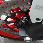 freinage ABS de série du le 821 Ducati Monster