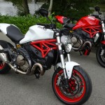Ducati Monster 821 et Monster 1200 S avec David Jazt