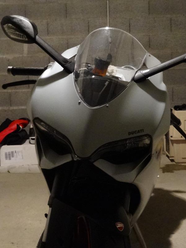 moto nettoyée avec Vulcanet