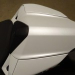 capot de selle Ducati 899 blanche