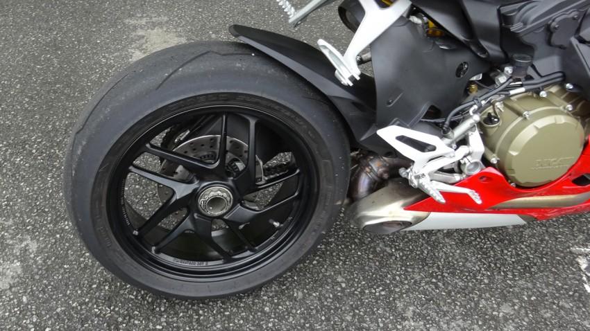 jante arrière du Ducati 1199 Panigale Standard