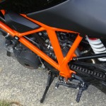 cadre orange du KTM SuperDuke