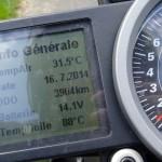 superduke 1290 R : tableau de bord