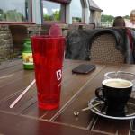 pause café au Golf de Saint-Malo