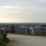 vue depuis Bécherel vers la campagne