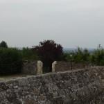 jardin du presbytère à Bécherel - Vinca Doherty - artiste peintre