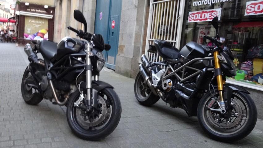 moto ducati à Rennes