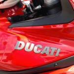 Logo Ducati sur Multistrada