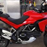 Ducati Multistrada rouge