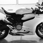 Ducati dans le garage de David