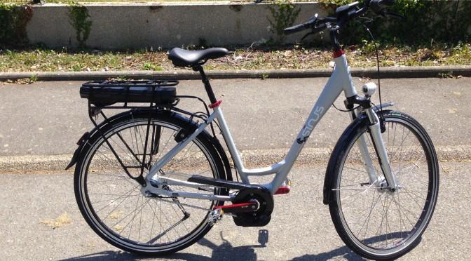 vélo électrique à Rennes