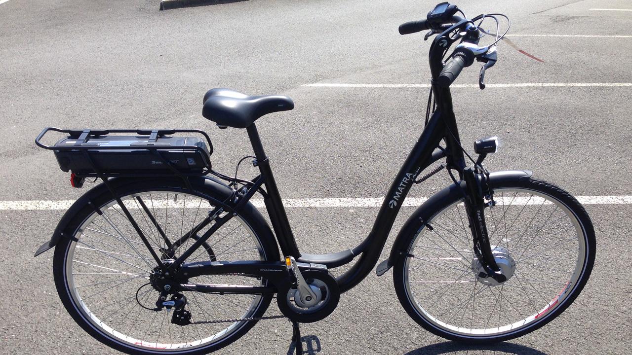 D8 iFlow Matra, le VAE, essai vélo à Rennes