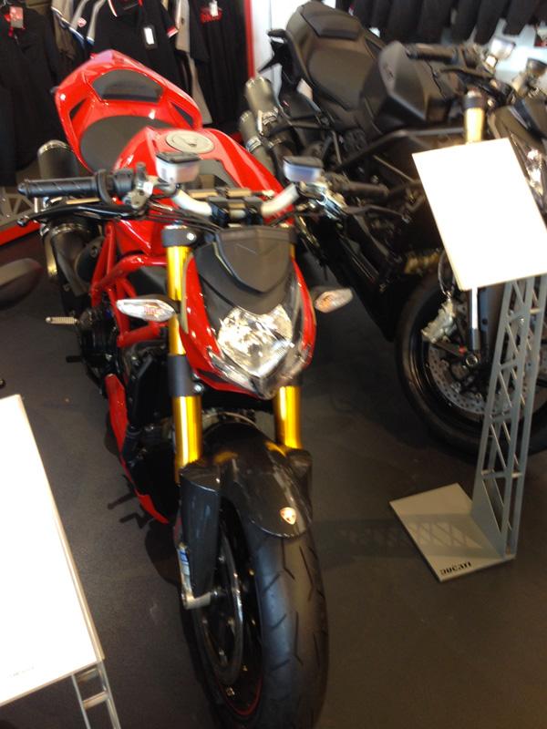 Ducati 1098 S Streetfighter neuve