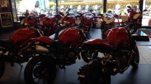 Concession moto Ducati à Caen