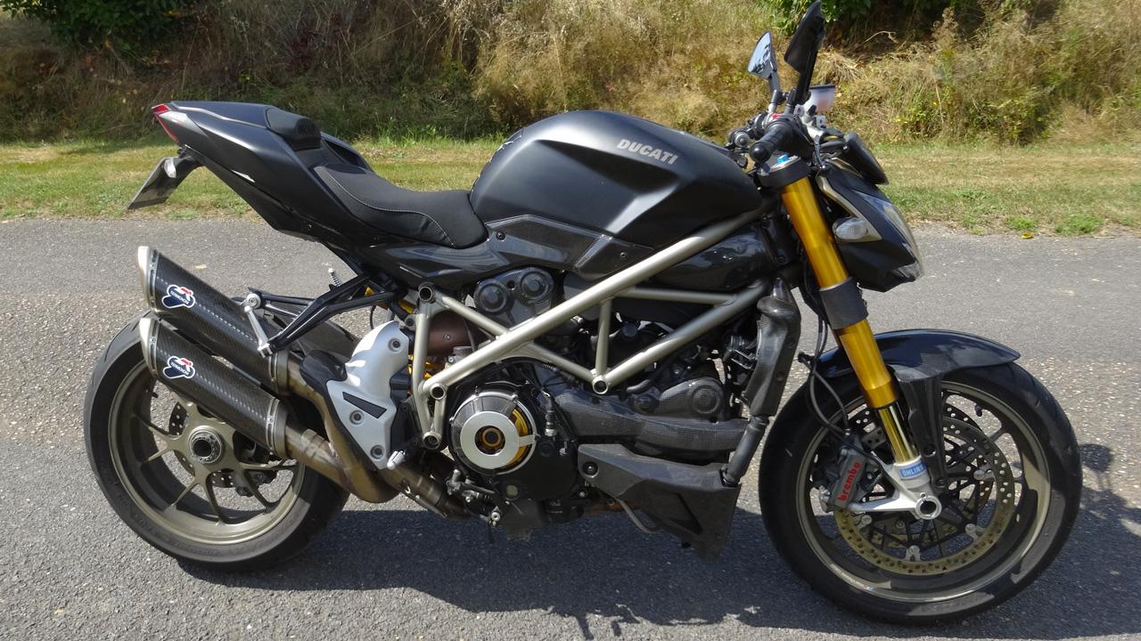 Ducati de David Jazt : Streetfighter 1098 S à Rennes