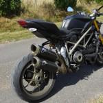 moto de David Jazt : 157cv pour 165Kg