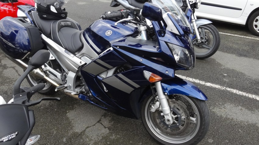 Yamaha FJR de Olivier de Rennes