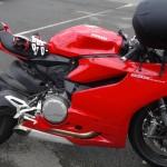 Ducati 899 rouge de Cédric