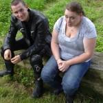 Alexandre et Amélie : balade moto de David Jazt