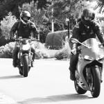 moto Ducati dans les virages de Corps-Nuds