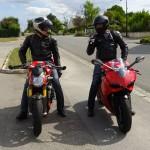 Motards Ducatistes à Rennes