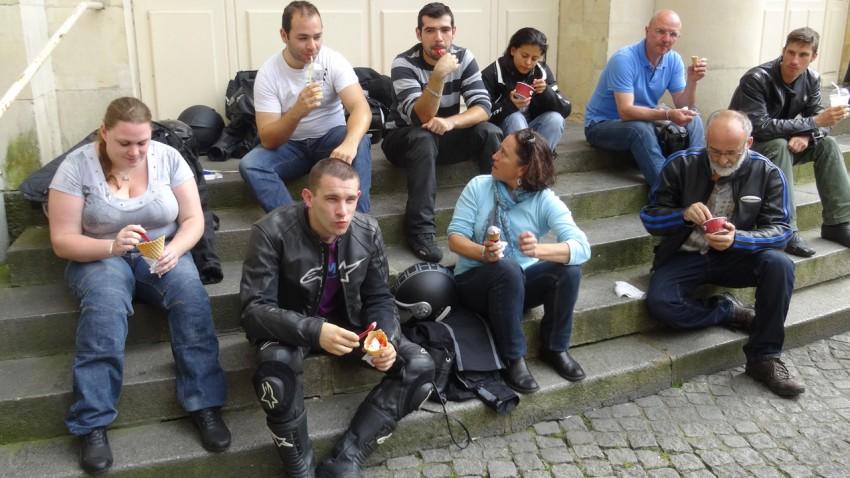 manger une glace à Rennes