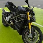 Ducati 1098 S Streetfighter noir mat de David Jazt