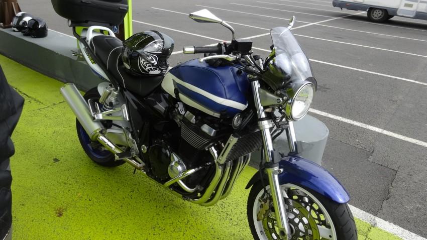Suzuki GSX 1400 d'Arnaud