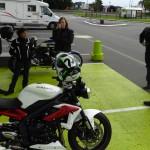 départ balade moto à Saint-Grégoire