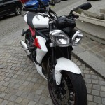 Triumph Street Triple R à Rennes