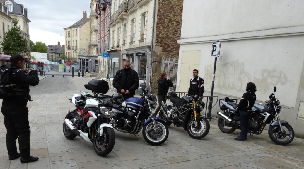 Motards Rennais chez Cupyou à Rennes (Visitation)