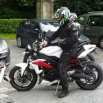 les virages de Bécherel à moto