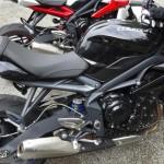 Street Triple Triumph standard noire