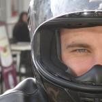 Alexandre, motard à Rennes lors des balades moto de David