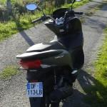 moteur 125cc au scooter PCX