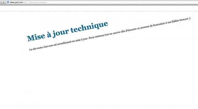 Jazt.com en travaux en août 2014