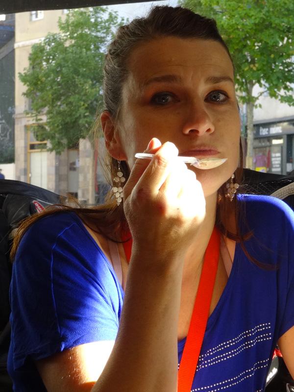 Magdalena, prof de violon à Rennes