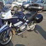 moto de Jean-François : une BMW