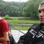 Maxime et Florent, motards Rennais