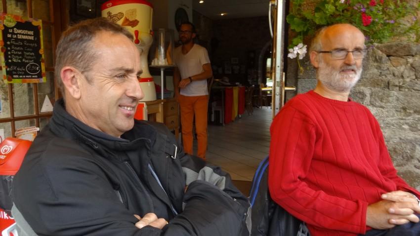 dominique et jean-françois : motards rennais