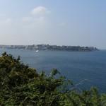 vue vers Dinard depuis Saint-Servan (Saint-Malo - Bretagne)
