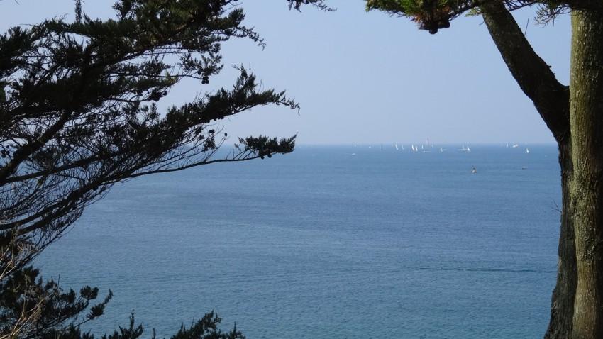 pique nique vue mer à Saint-Malo (Saint-Servan)